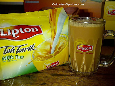 Lipton 3-in-1 Teh Tarik Milk Tea