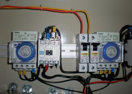 wiring diagram timer listrik wiring image wiring cara setting timer theben pada instalasi listrik di rumah on wiring diagram timer listrik