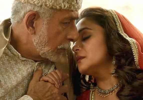 Dedh Ishqiya style guide - Madhuri Dixit-Nene and Naseeruddin Shah