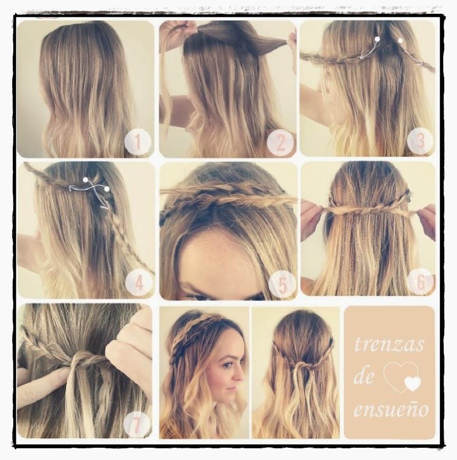 Peinados De Media Melena - Peinados Media Melena en Pinterest Peinados Cortes De