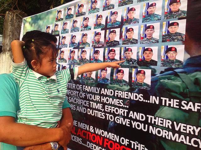 Dead PNP-SAF commandos, SAF, PNP, Mamasapano