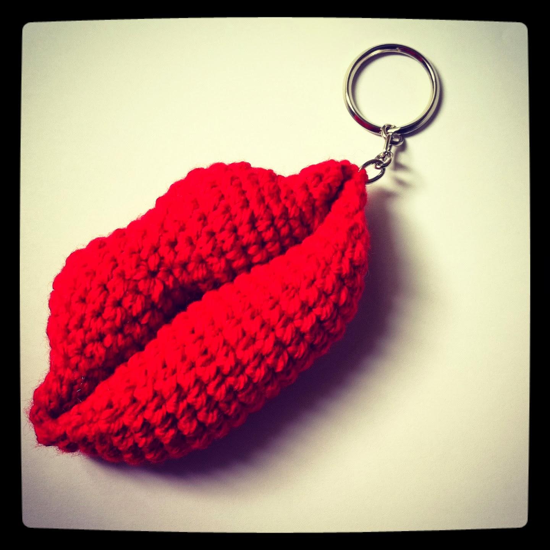 Labios crochet