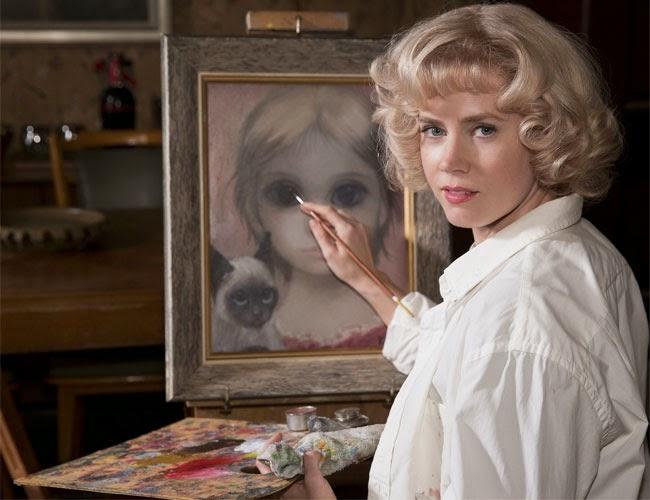 Amy Adams in Big Eyes movie