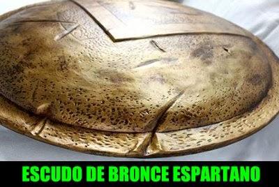 espartanos-escudo-bronce