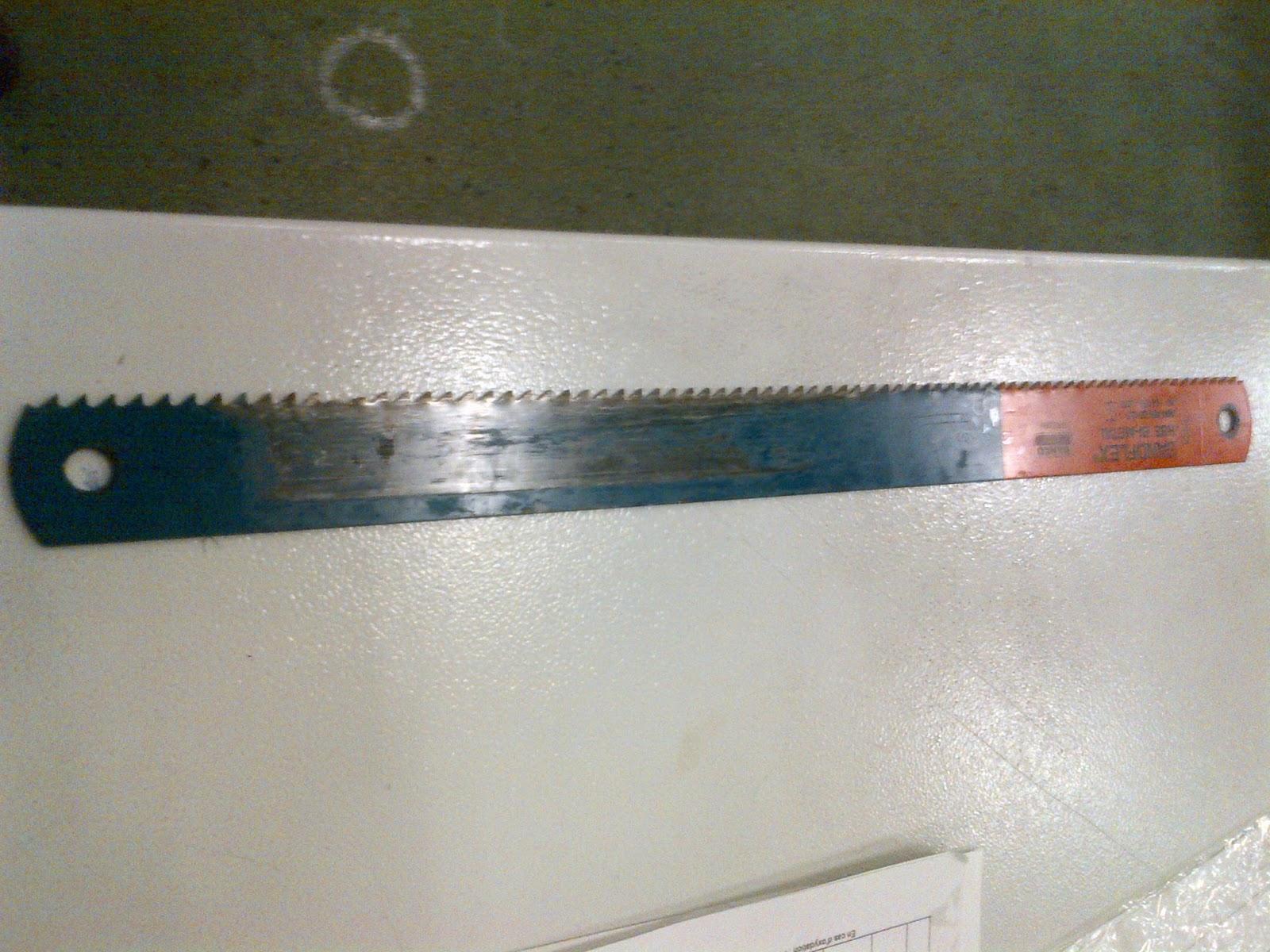 Bushcraft74 fabrication d 39 un couteau bushcraft en plate - Comment affuter un couteau ...