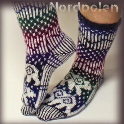 Nordpolen sokker