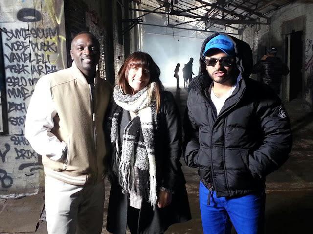 Duo en préparation entre Tamer Hosni et Akon