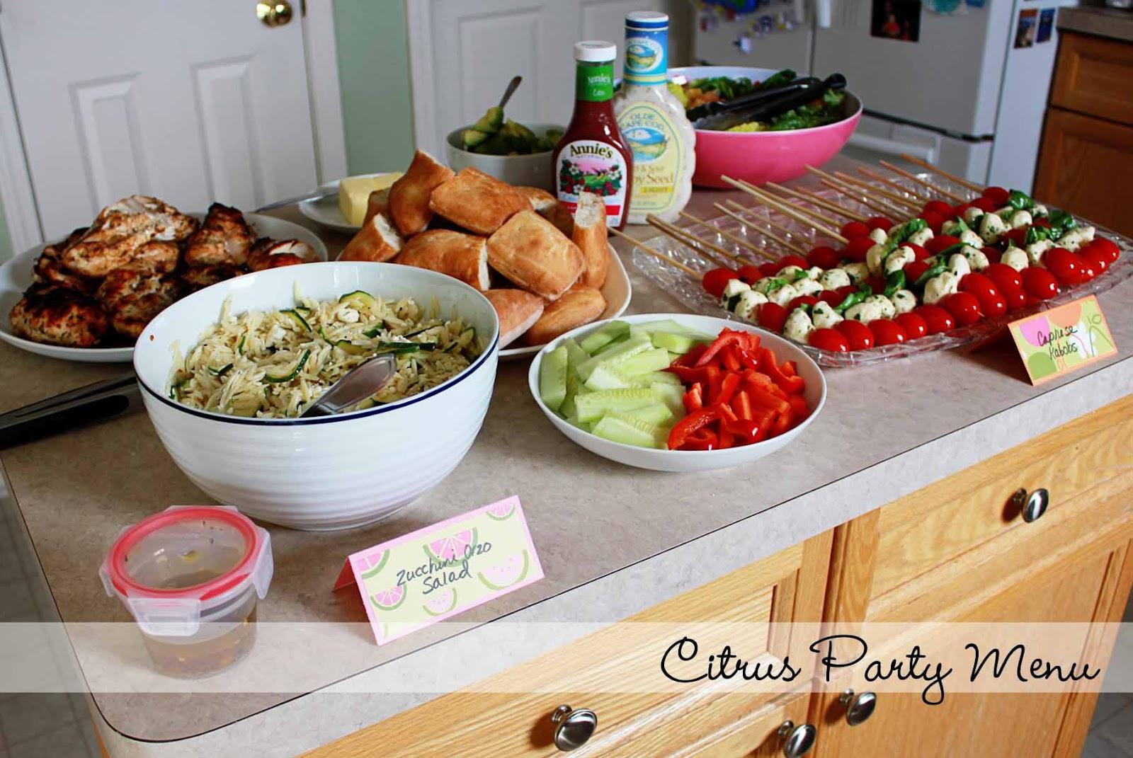 Birthday Party Ideas Birthday Party Ideas Menu