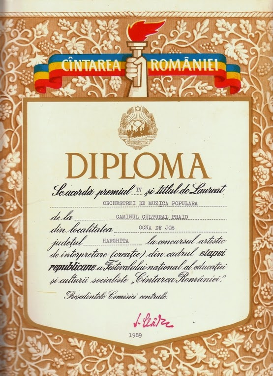 Megéneklünk Románia és az Alsósófalvi Népi Zenekar