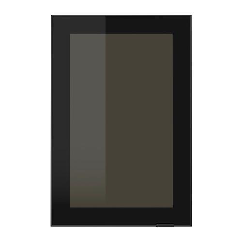 Puertas vidrio Jutis negro cristal ahumado