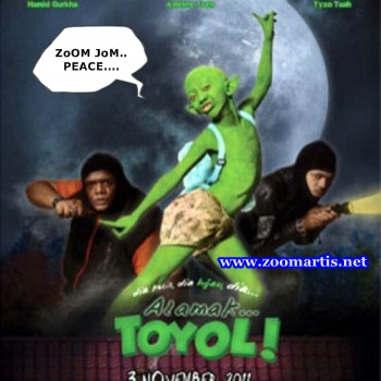 ... Semasa | Tutorial: Sinopsis Filem Alamak Toyol | Trailer Alamak Toyol