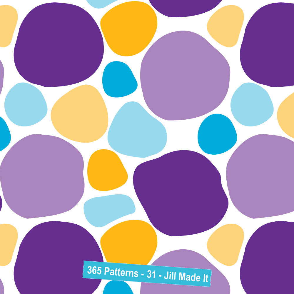 365 Patterns:  Happy Rocks