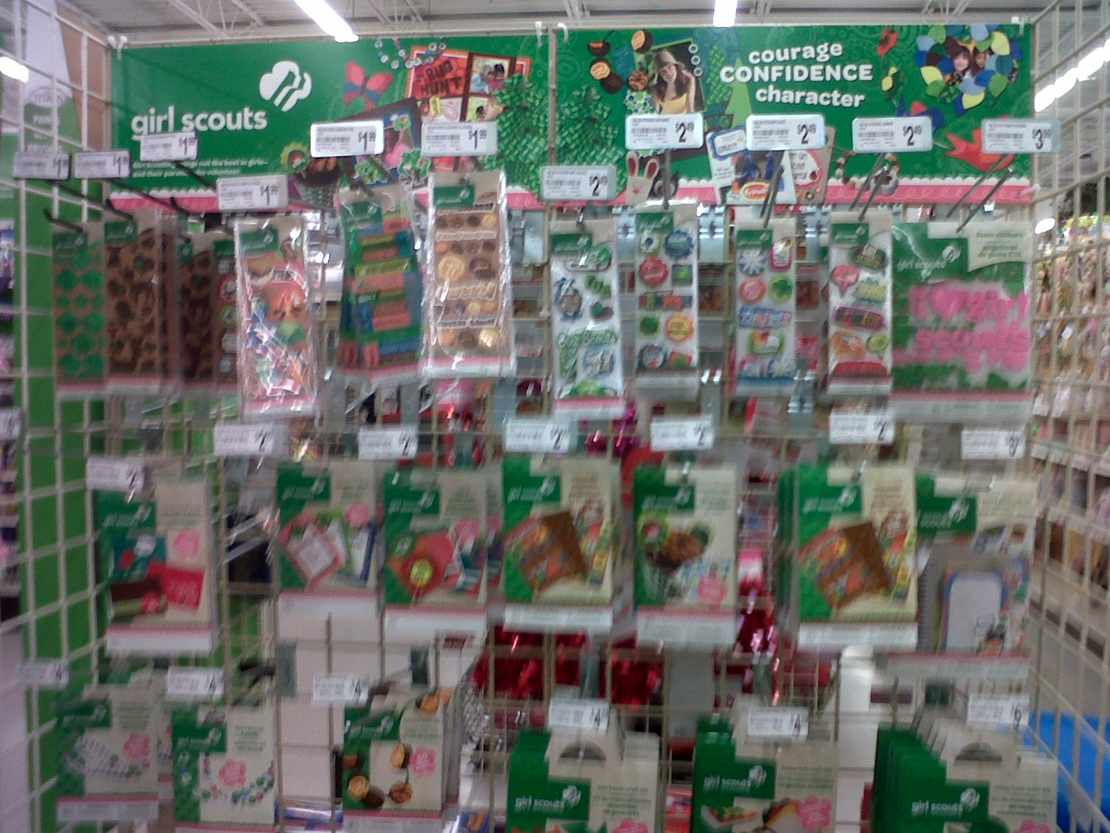 Arts Crafts Store Now Stocks Girl Scout Items