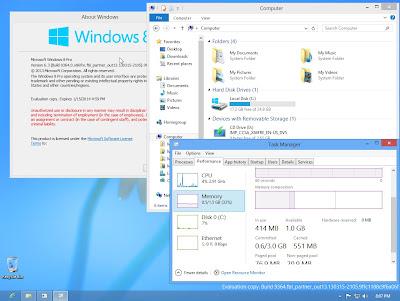 Download Windows 9 Beta Build 9364