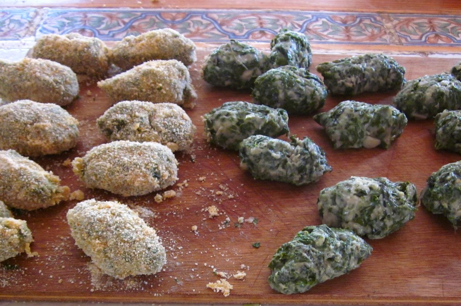 croquettes feuilles de bettes
