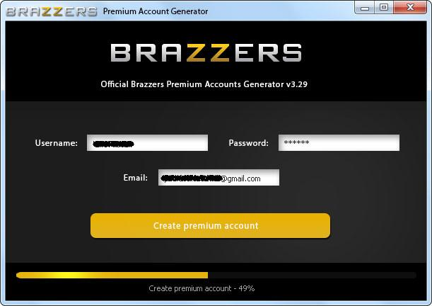 Brazzers acount and password