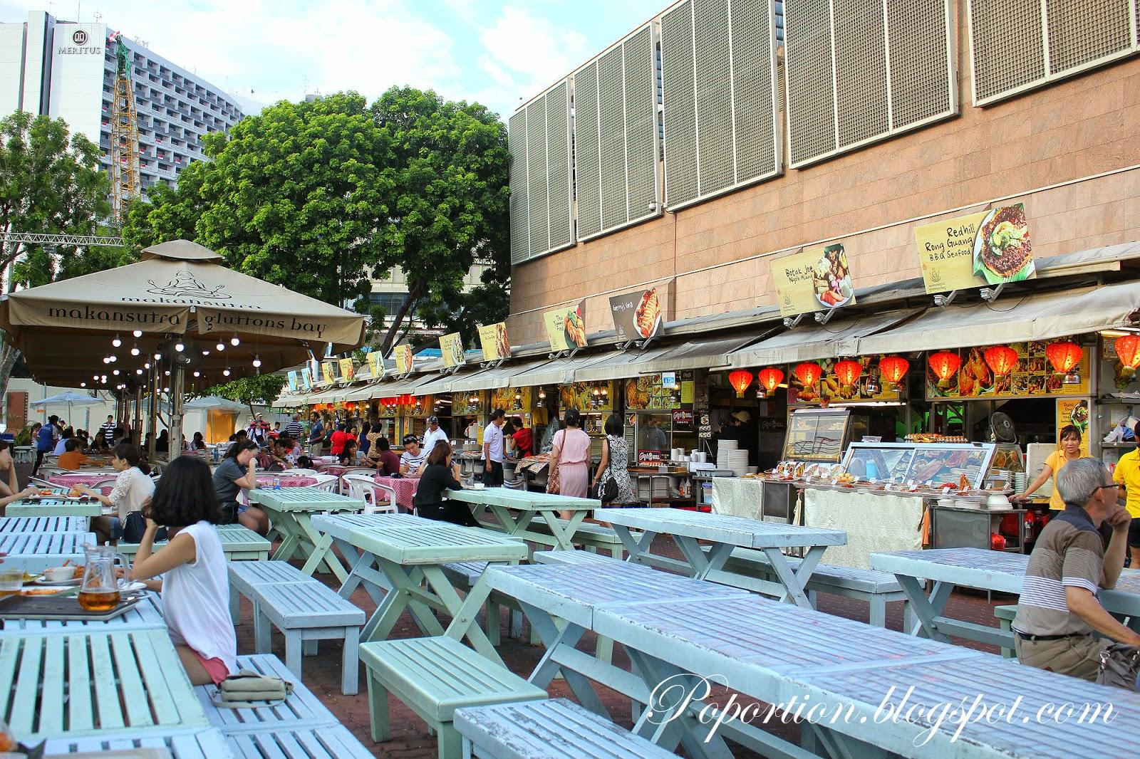singapore hawker fare makansutra glutton bay