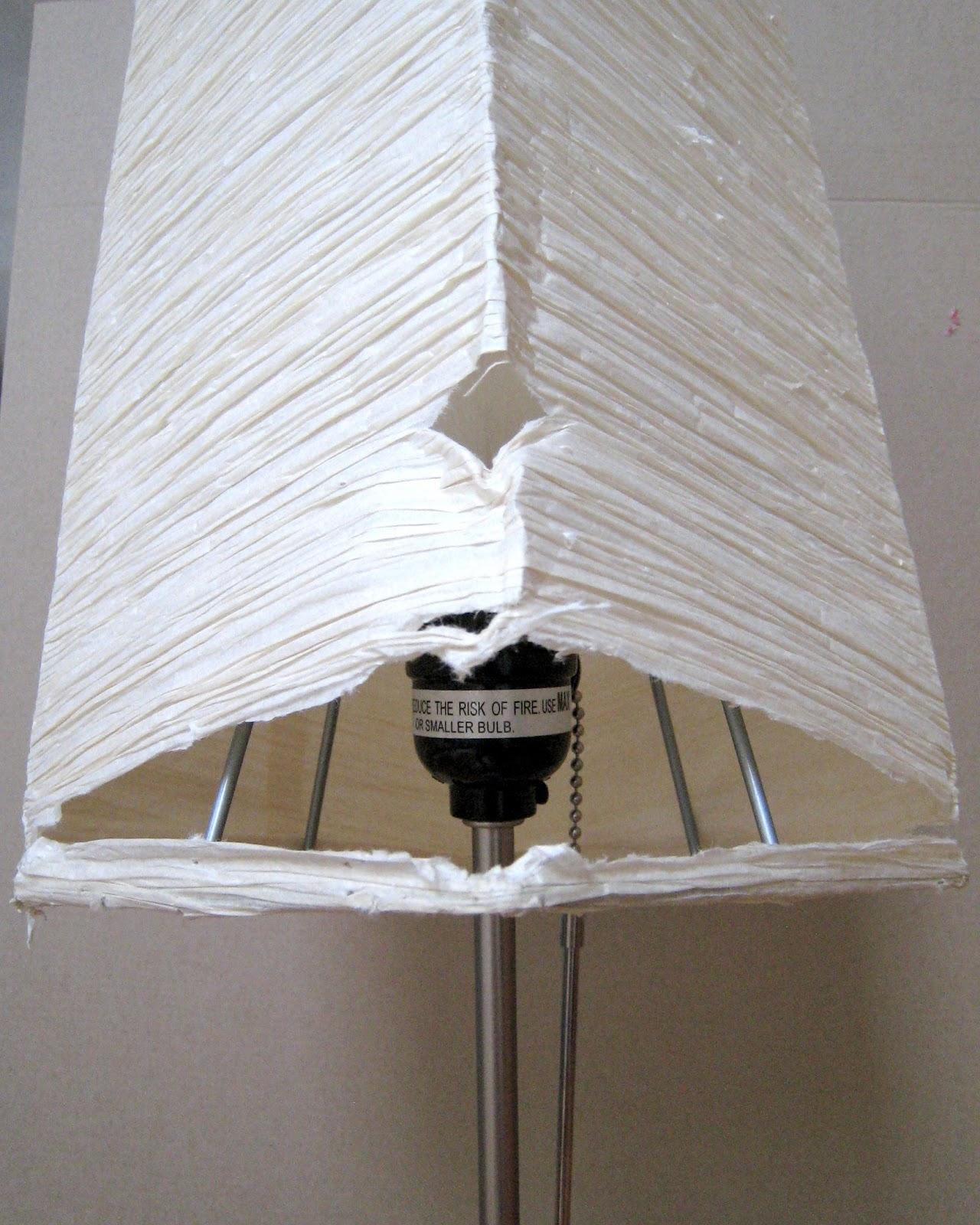 Michaels Craft Floor Lamp: Rhody Life: DIY: IKEA Orgel Lamp Shades