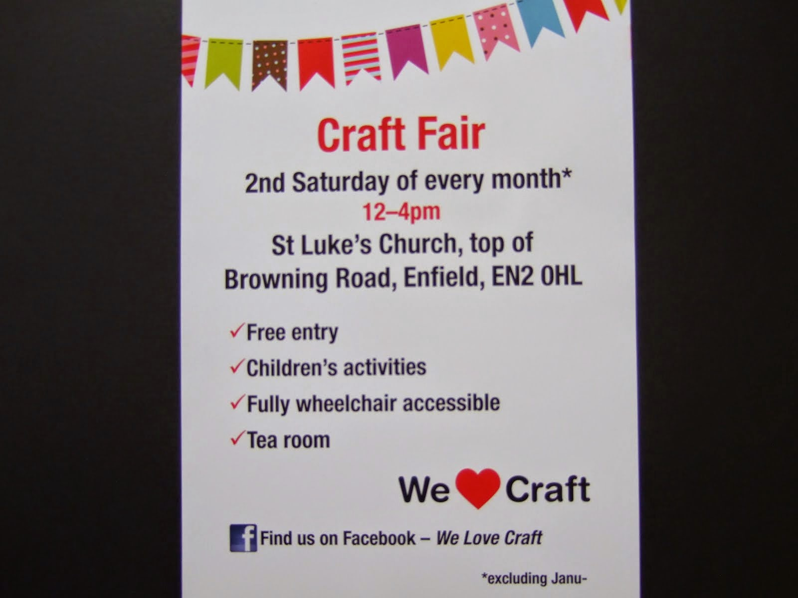 Enfield Craft Fair