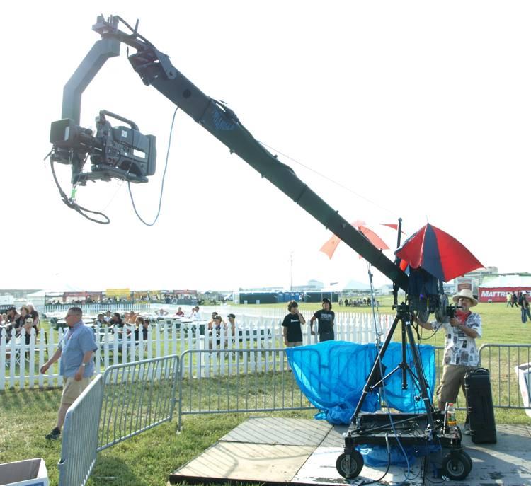 Jib Crane In Uae : Al wasam broadcast equipment dubai camera crane