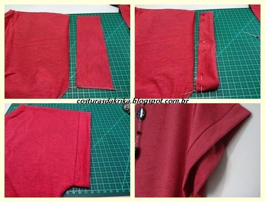 blusa de málha