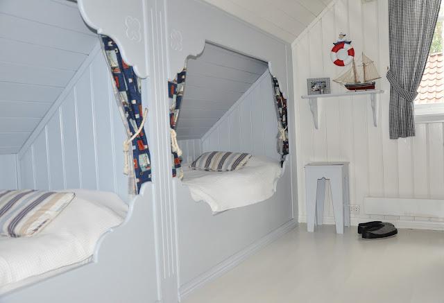 """Husmannsplassen i hidlesundet: """"det blå rommet"""""""