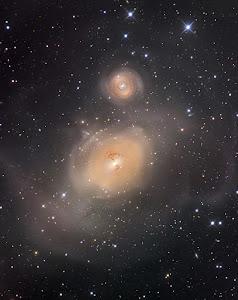 NGC 1316 & NGC 1317