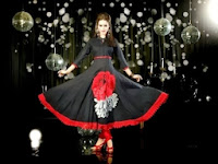 Readymade Black Anarkali Frocks