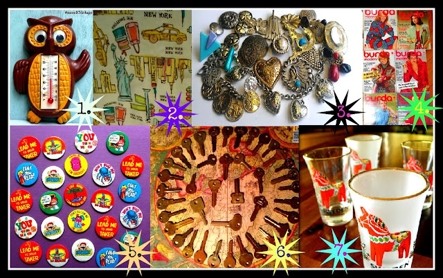 Vintage Christmas Stocking Stuffers from Etsy