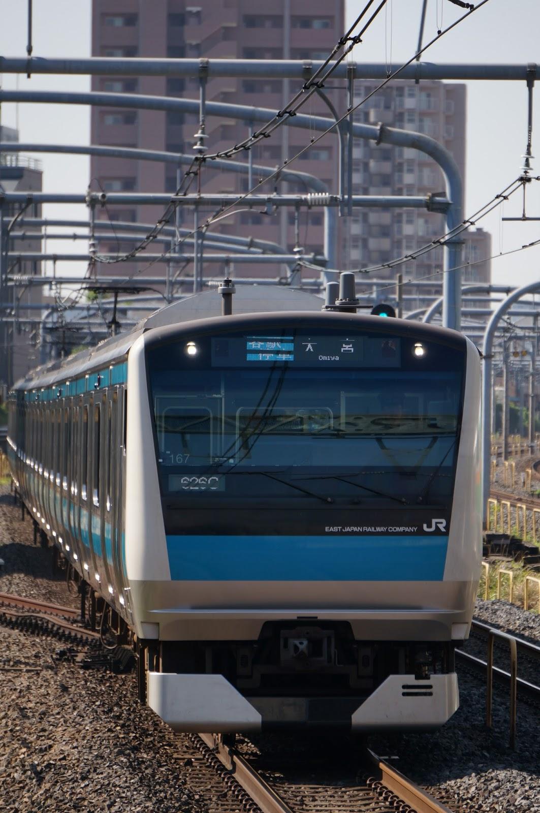 京浜東北線E233系1000番台