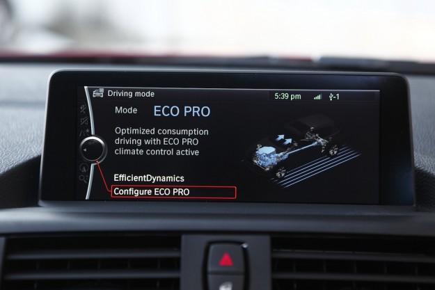 voiture du futur eco pro l 39 assistant d 39 co conduite chez bmw. Black Bedroom Furniture Sets. Home Design Ideas