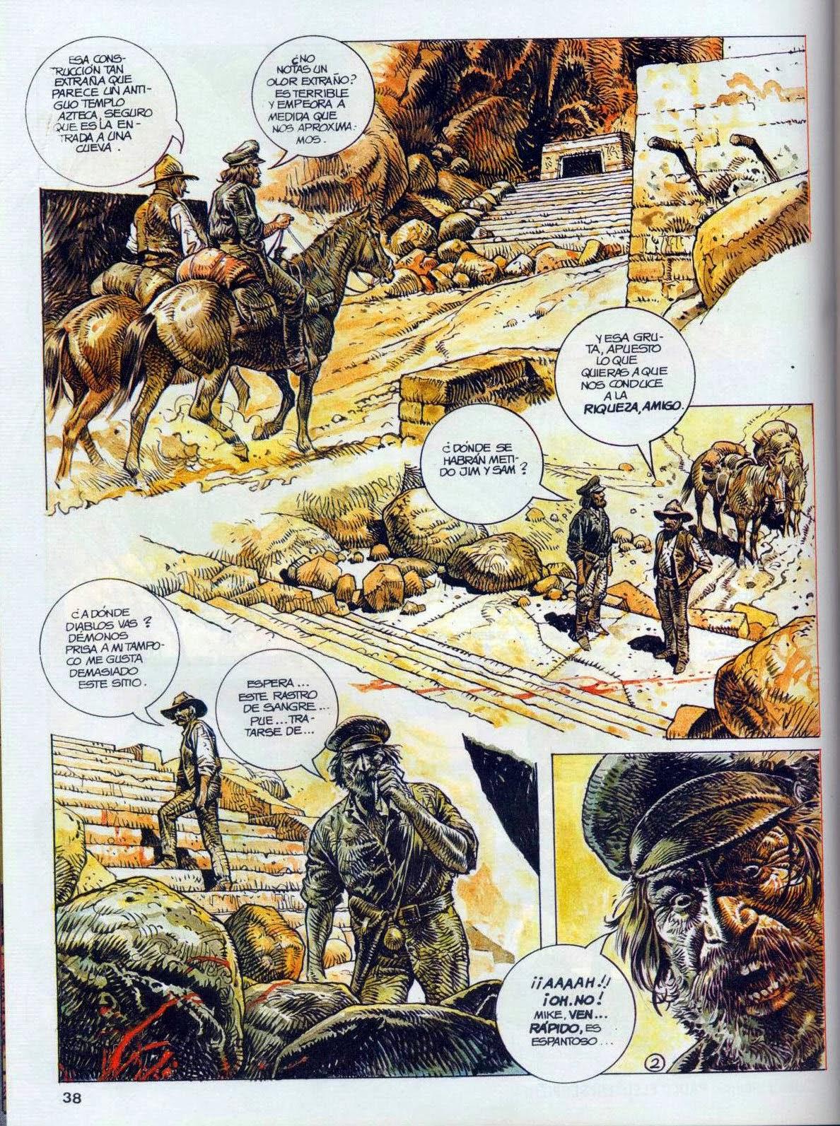 Western erotic comics