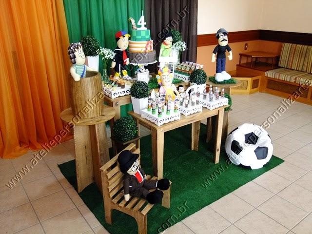 Decoração de festa infantil Chaves