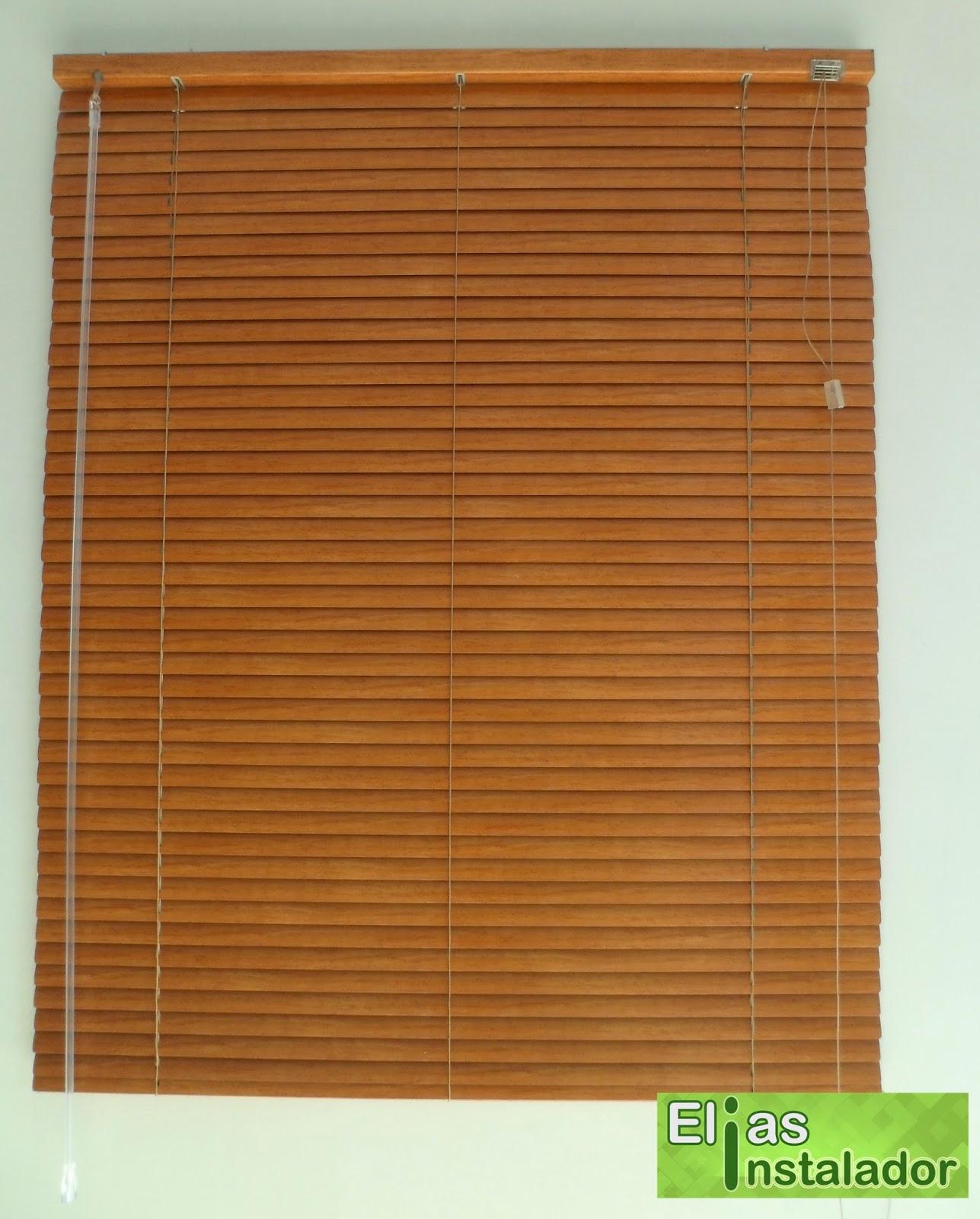 #82481C Elias Instalador: Persiana horizontal cor madeira em porta e janela 606 Janelas Em Pvc Cor Madeira