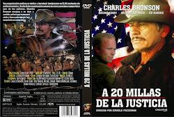 A 20 millas de la justicia 1980 - Carátula