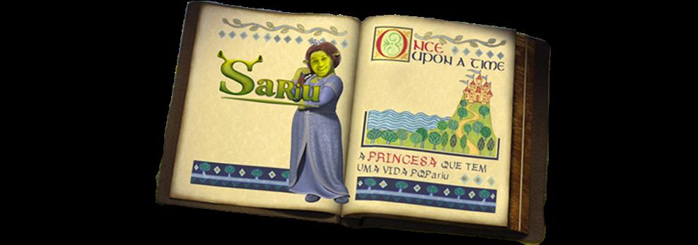 Sariu - a princesa que tem uma vida que PQPariu