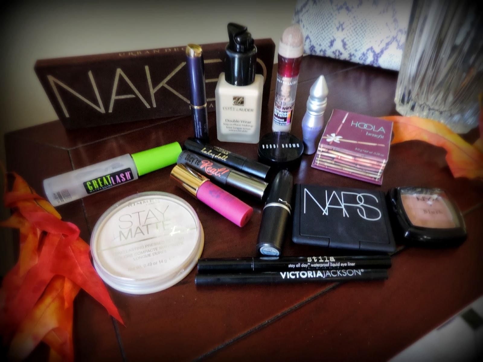 My Monthly Makeup Bag November