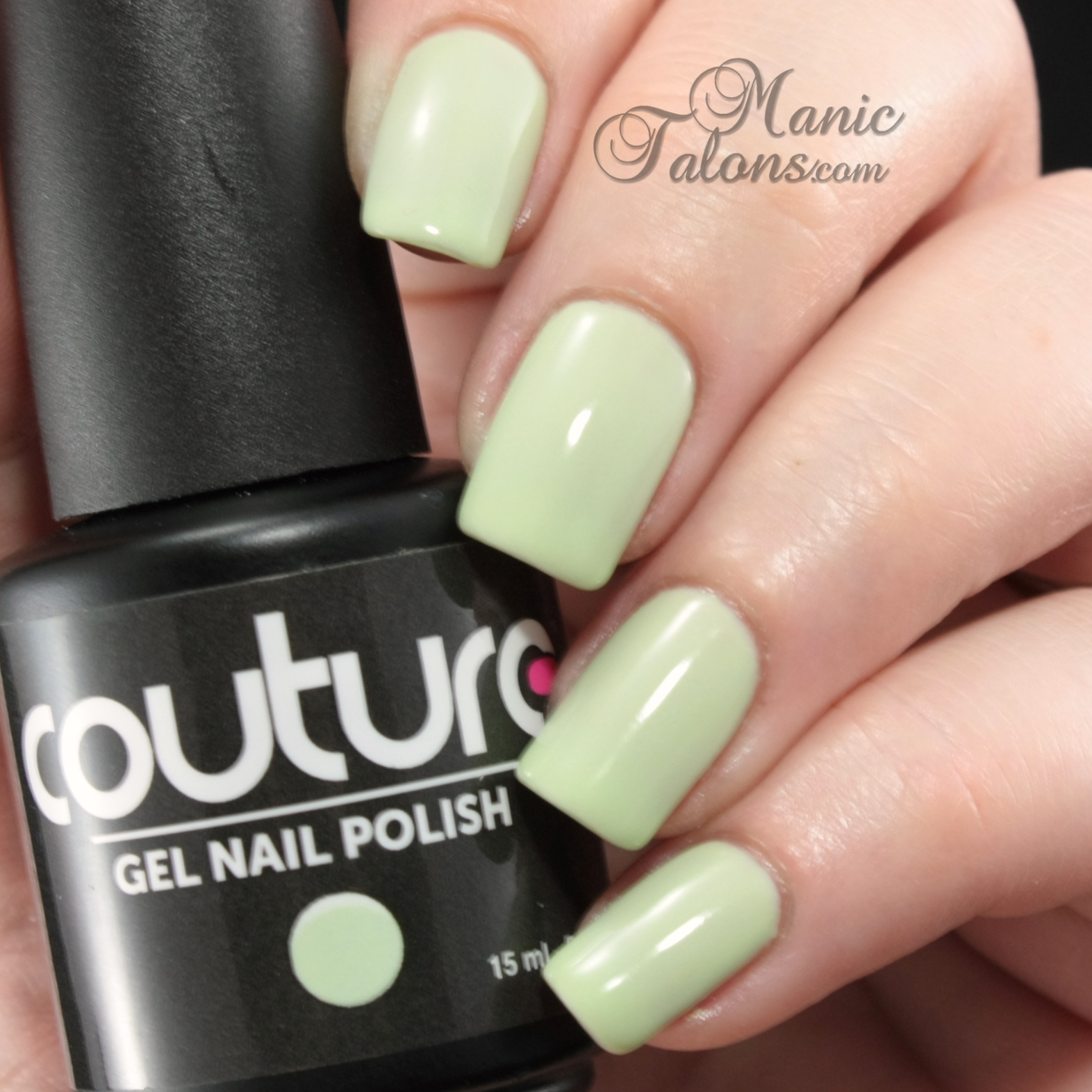 Couture Soak Off Gel Polish Silky Sea Foam Swatch