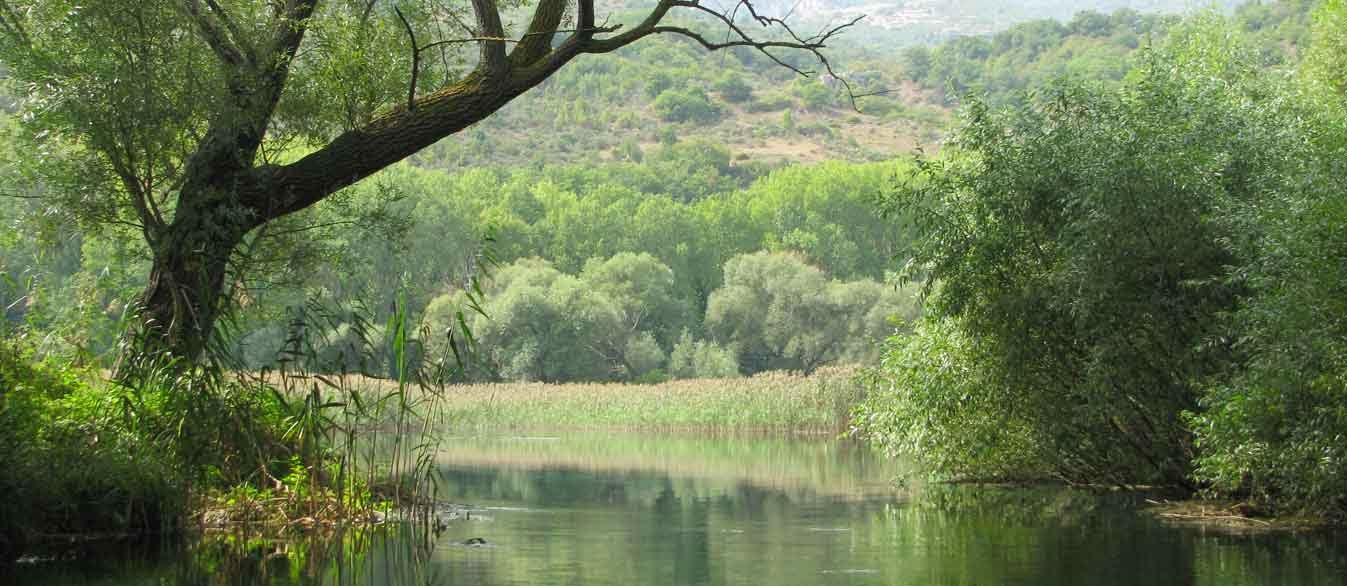 Una bella veduta sulle sorgenti del pescara - Foto di Alberto Colazilli