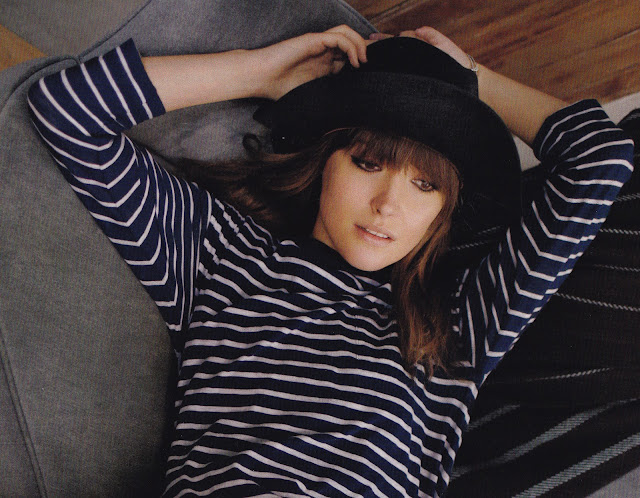 rose+byrne+stripes On Trend with Vintage  Chic in Classic Stripes