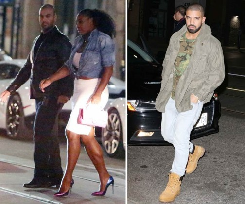 Serena meets Drake's Mother.