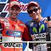Tepok Jidat! Lorenzo Yang Juara, Malah Rossi Yang Jadi Bintang MotoGP