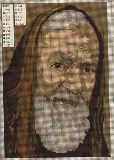 Punto croce immagini sacre 4 padre pio da pietralcina for Punto croce immagini