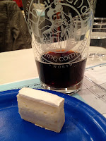 Brie and beer