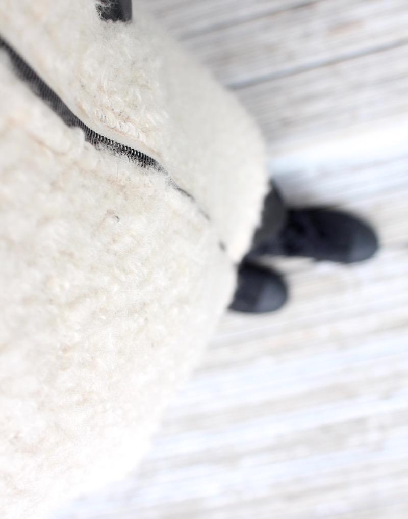 Pehmeä vaalia takki