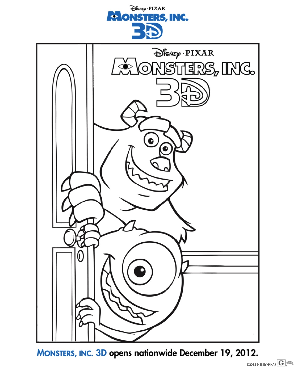 Because Of Its Upcoming Release I Wanted To Share These Fun Family Activity Sheets Which Include A Coloring Sheet Door Hangers Mazes And More