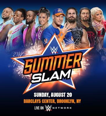 Watch Online English TV Show WWE SummerSlam PPV 2017 300MB DVDRip 480P Free Download At WorldFree4u.Com