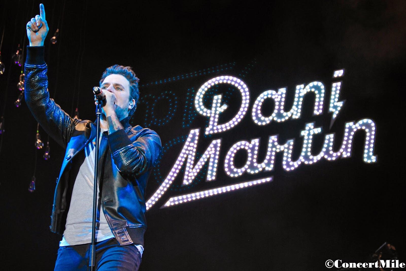 Crónica DANI MARTIN en concierto, arranca su gira en Elche