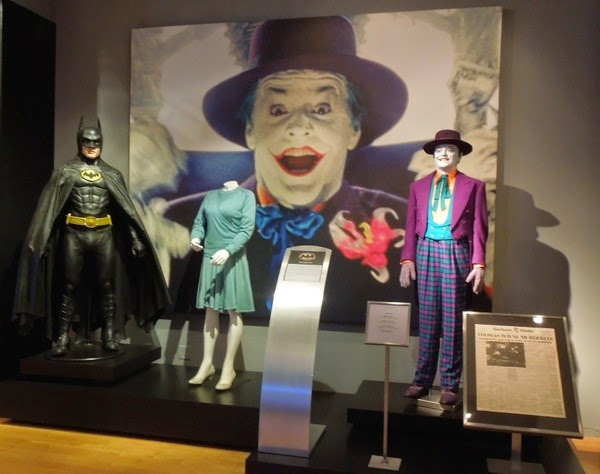 Original 1989 Batman movie costume exhibit