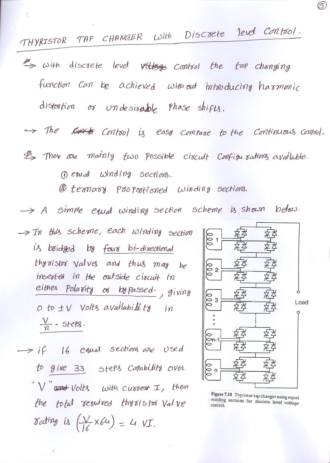 Thyristor Controlled Voltage Regulators And Discrete Regulator Posted 7th July 2015 By Mali S N Krishna Konijeti
